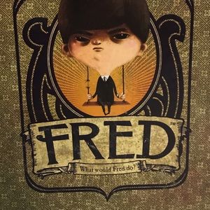 Fred What Would Fred Do? Board Game Kids Children Adults Family Vintage Game